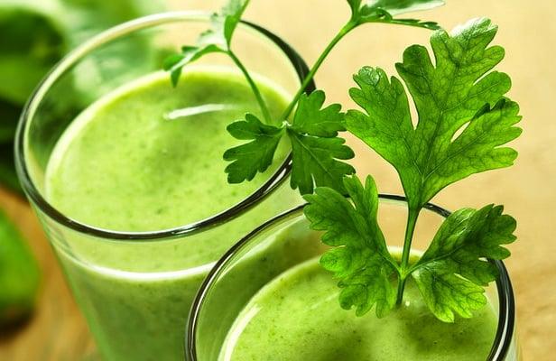 Smoothie verde contra celulite